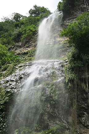Waterfall in Trinidad